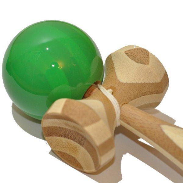 kendama verde bamboo 18 cm