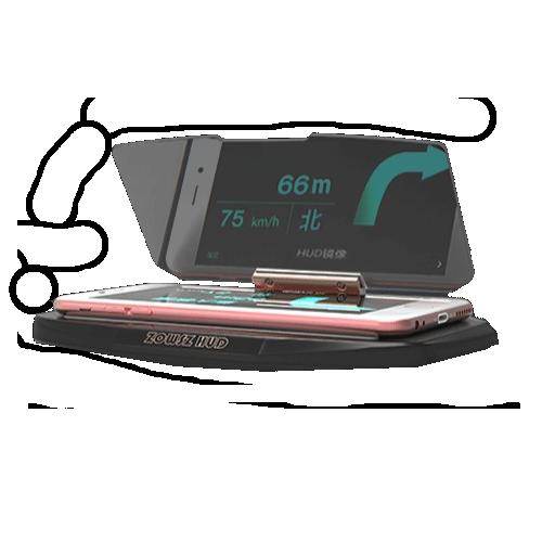 HUD Head Up Display GPS Smartphone telefon mobil bord suport