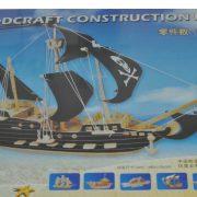 3d puzzle lemn vas pirati velier vapor