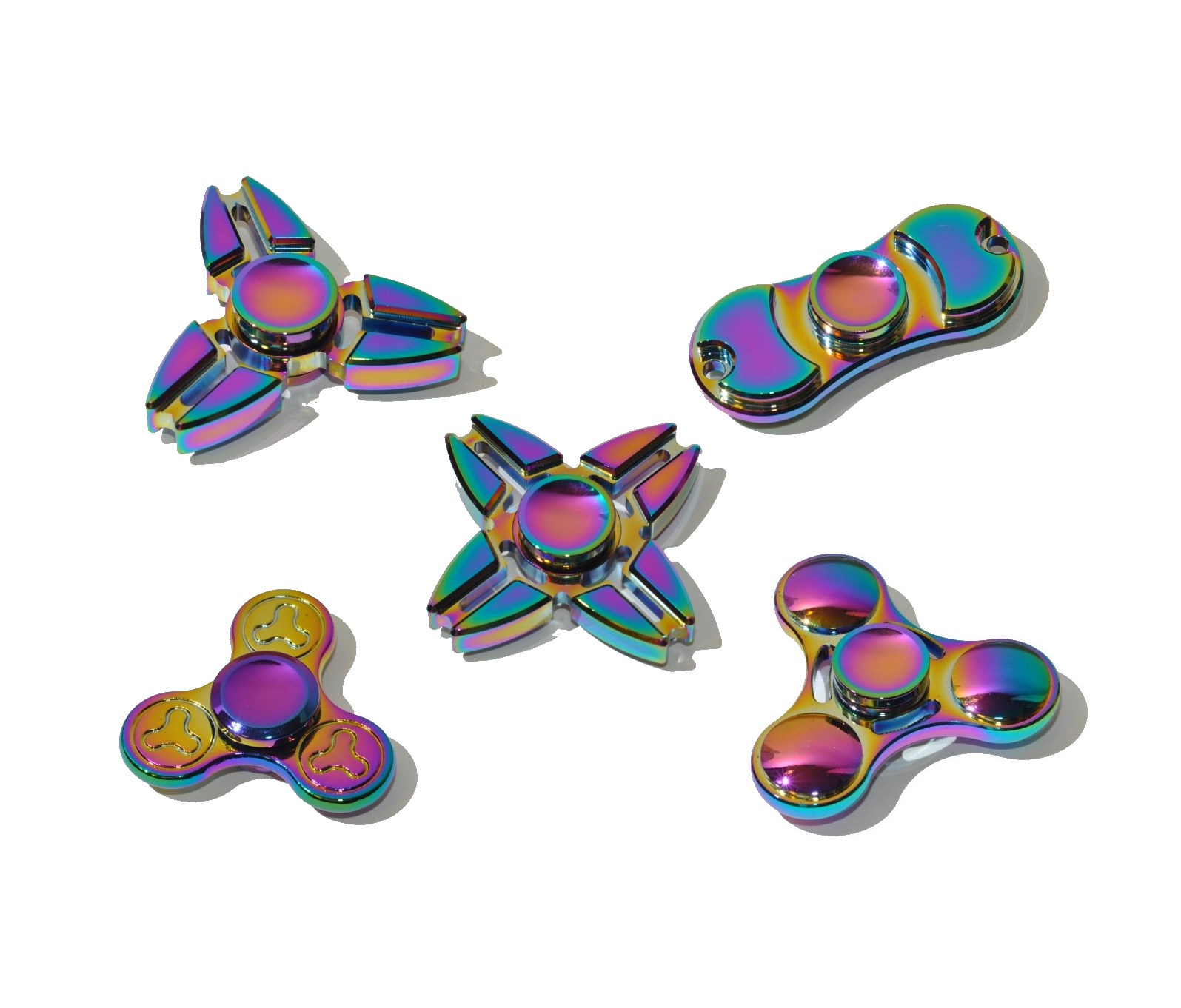 rainbow spinner colorat fidget