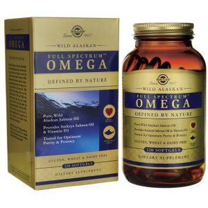 Full Spectrum Omega Wild Alaskan Solgar