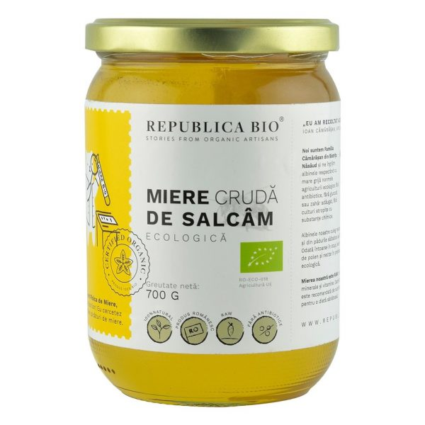 MIERE DE SALCAM CRUDA ECO 700g REPUBLICA BIO