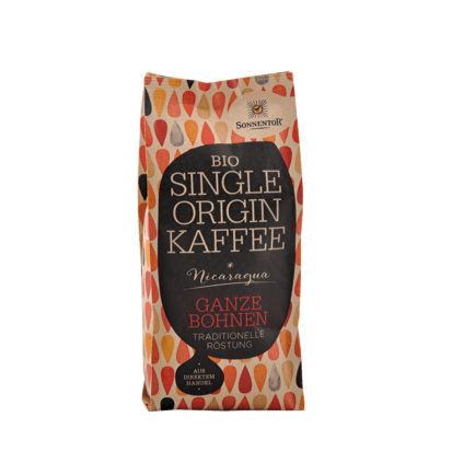 cafea nicaragua sonnentor 250g boabe