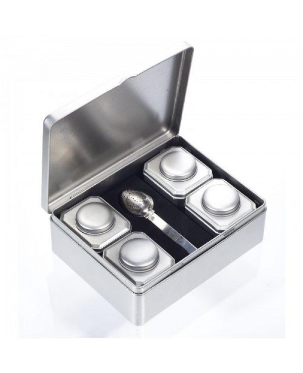 set pentru ceai silver star solaris