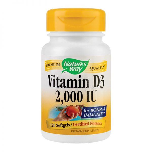 vitamina d3 2000UI 120cp