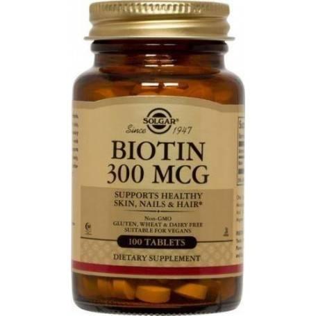 BIOTIN-300micrograme-100tB-SOLGAR