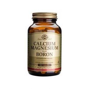 CALCIUM-MAGNESIUM-+-BORON-tabs-100cps-SOLGAR