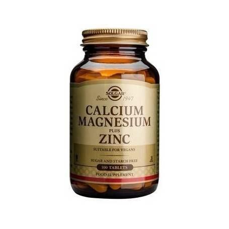 CALCIUM-MAGNESIUM-+-ZINC-100tb-SOLGAR