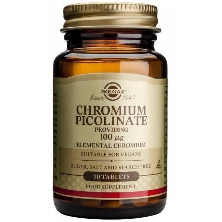 CHROMIUM-PICOLINATE-100mg-90-veg-caps-SOLGAR
