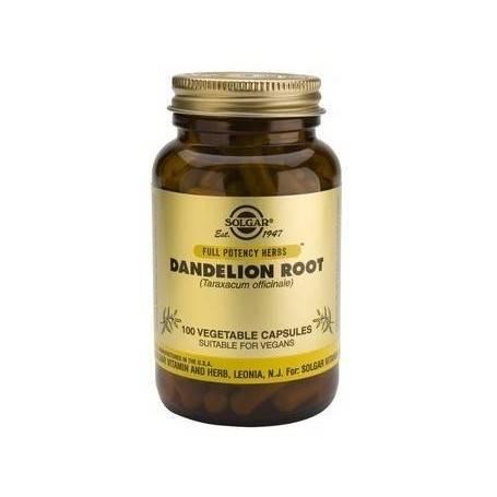 DANDELION-veg.caps-100cps-SOLGAR