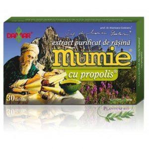 EXTRACT-PURIFICAT-DE-RASINA--MUMIE-CU-PROPOLIS-30tb-DAMAR
