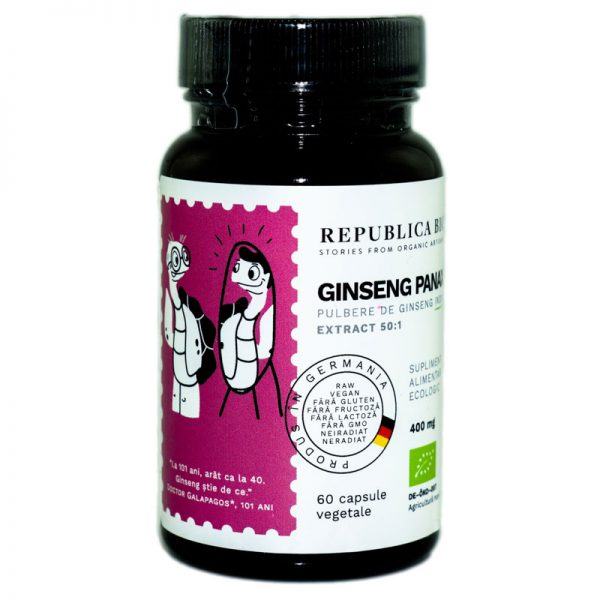 GINSENG-PANAX-extract-50:1-ECO-60cps-REPUBLICA-BIO