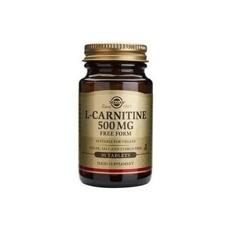 L-CARNITINE-500mg-30tb-SOLGAR