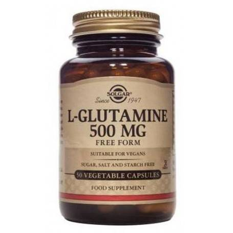 L-GLUTAMINE-500mg-veg.50cps-SOLGAR