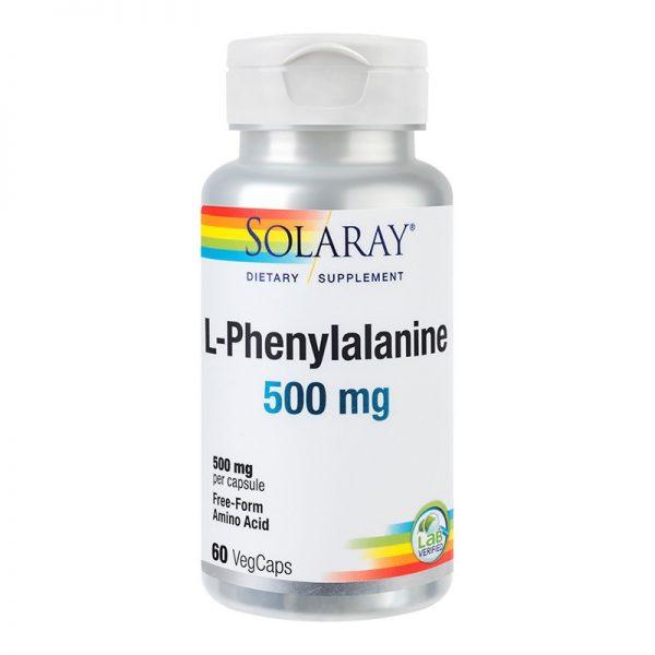 L-PHENYALANINE-500mg-60cps-SECOM