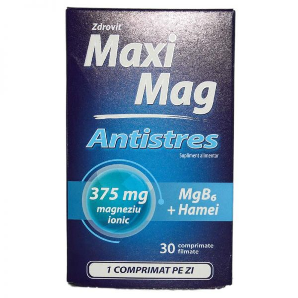 MAXIMAG-ANTISTRES-30cps-ZDROVIT