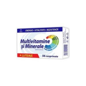 MULTIVITAMINE+MULTIMINERALE-(CU-LUTEINA)-56cpr-ZDROVIT