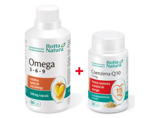 PACHET---OMEGA-3*6*9-90-cps-+-COENZIMA-Q10-15mg-30cps(gratis)-ROTTA-NATURA