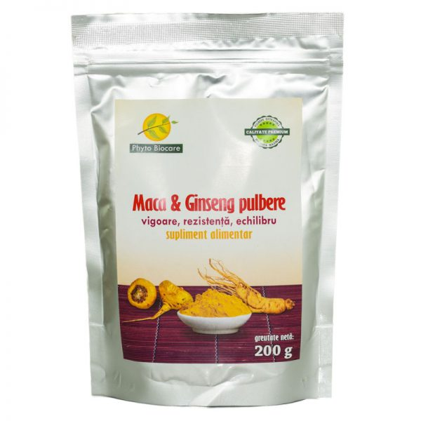 PULBERE-DE-MACA&GINSENG-200gr-PHYTO-BIOCARE