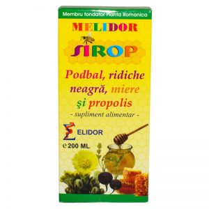 SIROP-PODBAL+RIDICHIE-NEAGRA+PROPOLIS+MIERE-200ml-PONTICA