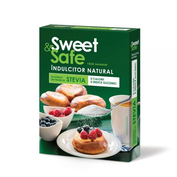 SWEET-&-SAFE---INDULCITOR-NATURAL-CU-EXTRACT-DE-STEVIE-350gr-SLY-NUTRITIA