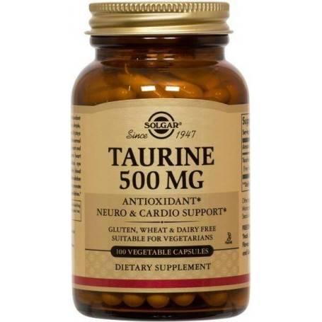 TAURINE-500mg-veg.50cps-SOLGAR